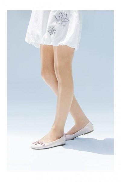 Cecilia de Rafael Sevilla K - Glatte, transparente Sommerstrumpfhose für Mädchen, 15 DEN