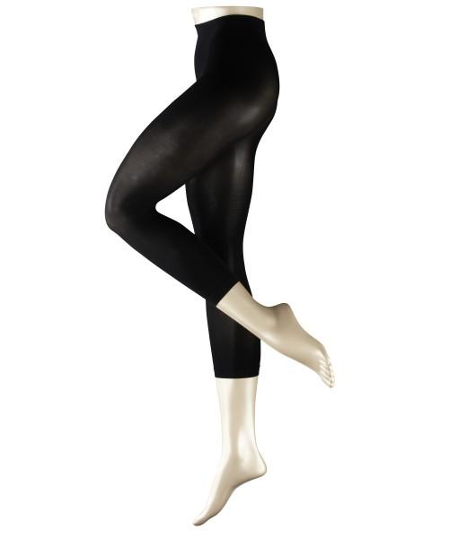 Semi-blickdichte, unglaublich weiche Capri-Leggings Pure Matt 50 von Falke