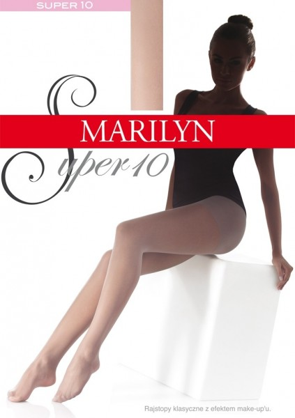 Marilyn hauchdünne Feinstrumpfhose Super 10