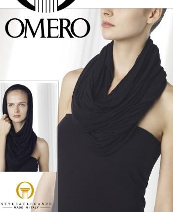 Omero Weicher Schal aus Viskose-Kaschmir-Mischung Kashmil
