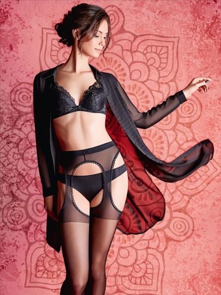 Transparente Strapsstrumpfhose Strip Panty von GIULIA
