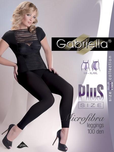 90de34fa95 Gabriella Blickdichte glatte Leggings in uebergroessen Microfibre 100 DEN  Plus Size