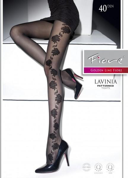 Fiore Strumpfhose mit blumigem Muster Lavinia