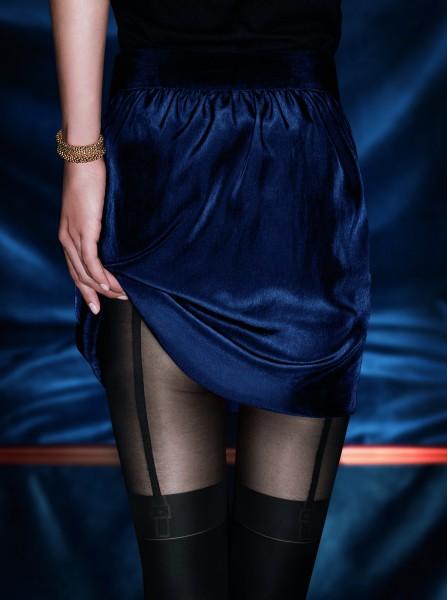 KUNERT Feminine Seduction - Strumpfhose mit verführerischer Straps-Optik
