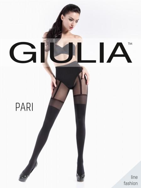 Blickdichte Strumpfhose mit verführerischer Strapsoptik Pari 21 von Giulia