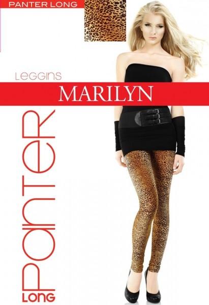 Marilyn Lange Leggings mit trendigem Leopardenmuster Panter, 60 DEN