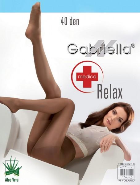 Gabriella Bequeme Feinstrumpfhose mit Anti-Cellulite-Wirkung Relax 40 DEN