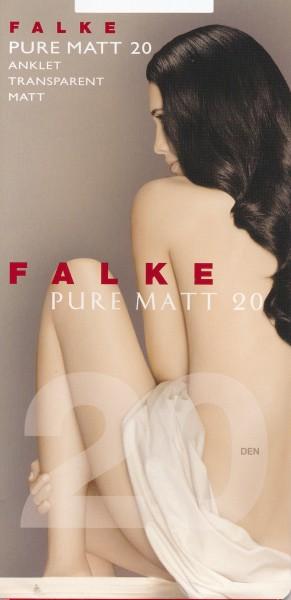 Transparente, matte Feinsöckchen Pure Matt 20 von Falke