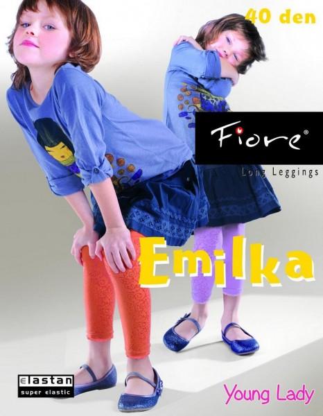Fiore Kinderleggins mit Muster Emilka 40 den