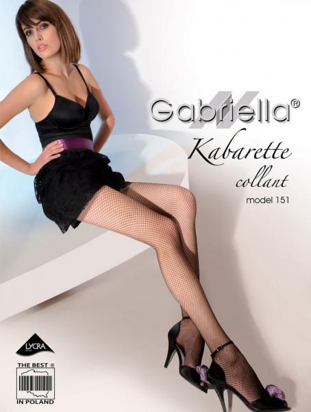 Gabriella Klassische Netzstrumpfhose Kabarette 151