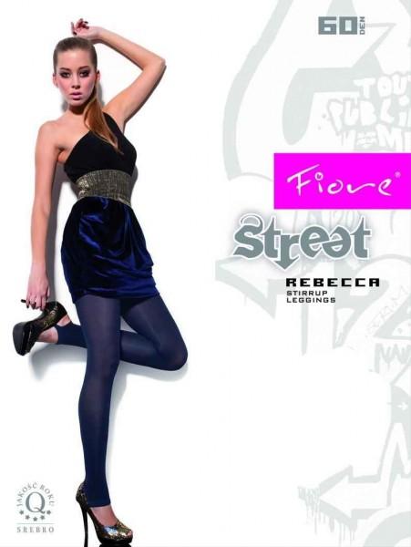 Fiore Steg-Leggins ohne Muster Rebecca 60 DEN