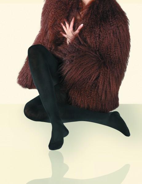 Herrlich weiche und warme Winterstrumpfhose mit Wolle, Kaschmir und Seide von Gerbe