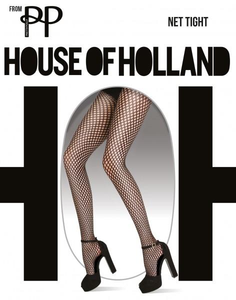 Weiche Netzstrumpfhose Net Tight von House of Holland for Pretty Polly