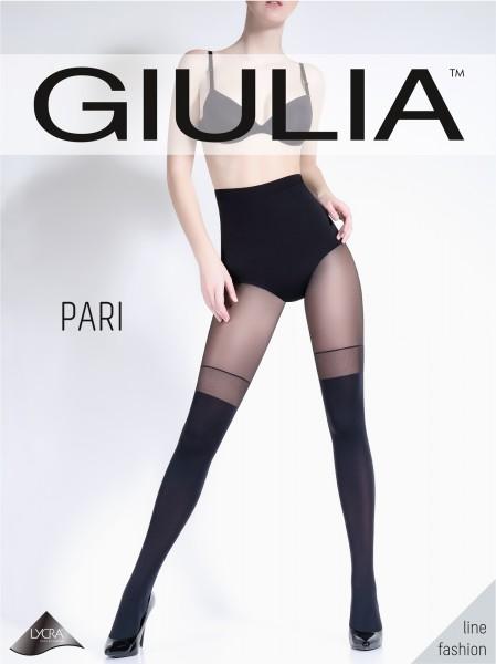 Blickdichte Strumpfhose mit verführerischer Strumpfoptik Pari 23 von Giulia