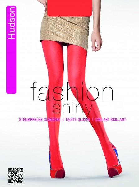 Blickdichte glänzende Strumpfhose in Modefarben Glossy Glimmer von Hudson