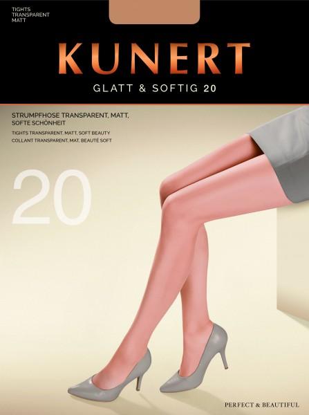 Klassische elegante Feinstrumpfhose Glatt & Softig von KUNERT, 20 DEN