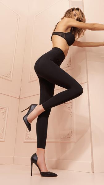 Blickdichte figurformende Leggings Push Up von Trasparenze, 120 DEN