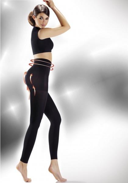 Annes Styling Blickdichte figurformende Leggings Push Up