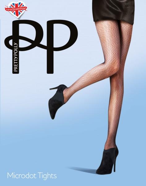 Feinstrumpfhose mit Micro-Pünktchen Microdot von Pretty Polly
