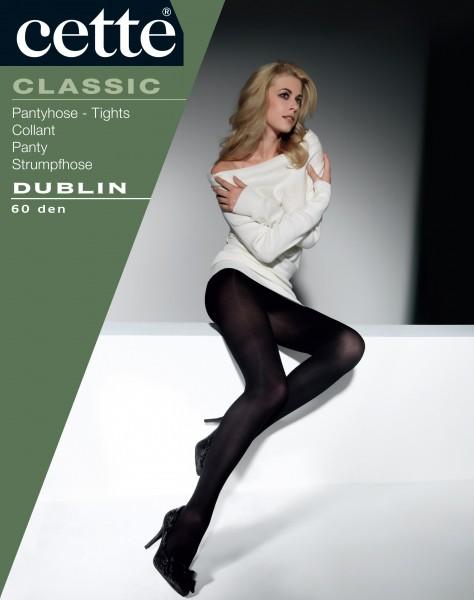 Blickdichte, weiche Strumpfhose mit subtilem Satinglanz Dublin von Cette