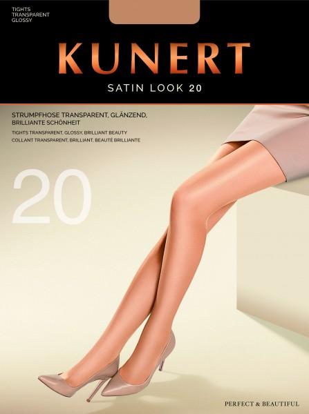 Glänzende Feinstrumpfhose Satin Look 20 von KUNERT