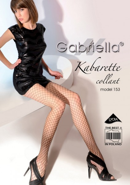 Gabriella Klassische Netzstrumpfhose Kabarette 153