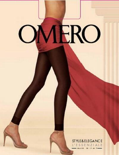 Omero Klassische blickdichte Leggings Iride 50 DEN