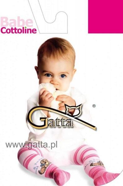 Gatta Baumwollstrumpfhosen fuer Babys Babe