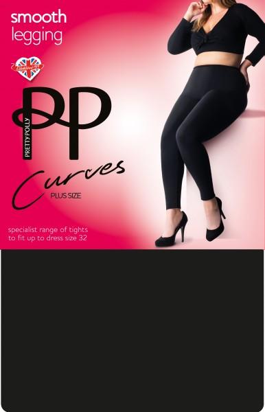 Bequeme Leggigns für Frauen mit weiblichen Rundungen Smooth Leggings Curves von Pretty Polly